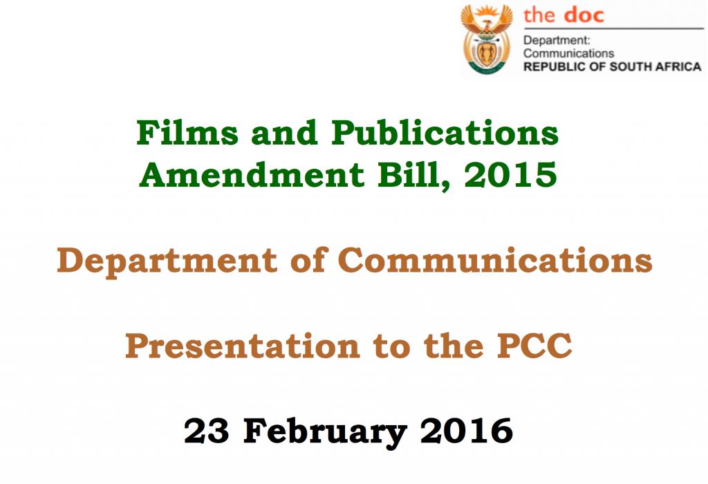 FPB Bill Presentation